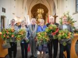 Vijf lintjes in de Grote Kerk Wageningen