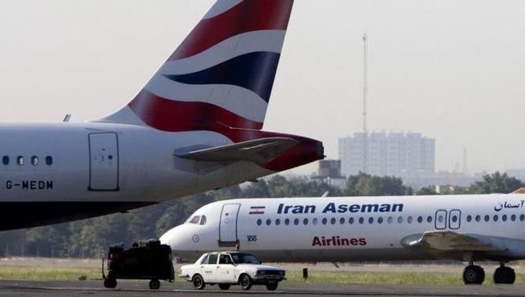 De toestellen van de Iraanse luchtvloot zijn gemiddeld 23 jaar oud.