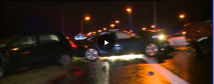 Accident sur le R3 à Fontaine-l'Evêque