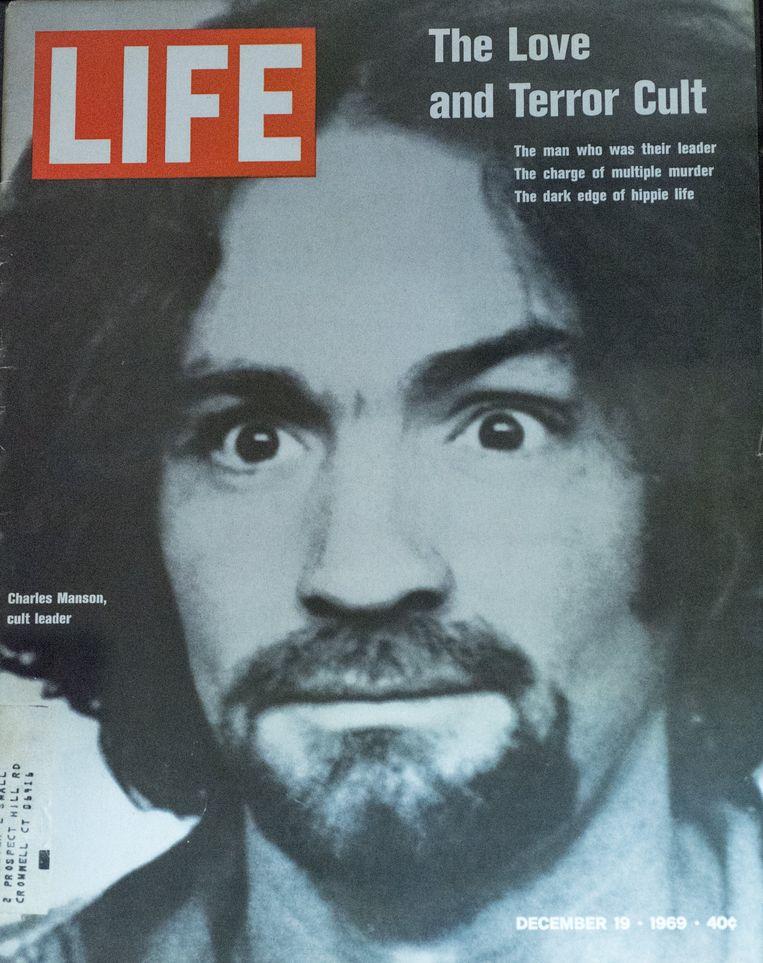 Charles Manson op de cover van Life op 19 december 1969.