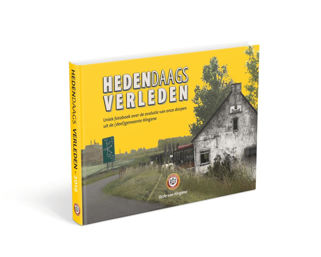 De Orde van Hingene selecteerde 154 oude foto's en liet op exact dezelfde plaats nieuwe beelden maken - het resultaat is te zien op de expo en ook gebundeld in een boek.