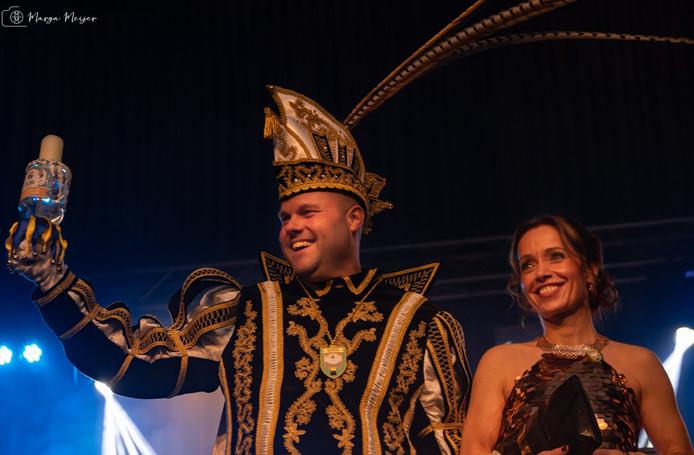 De nieuwe prins van Gendt: Goewan d'n Leste.