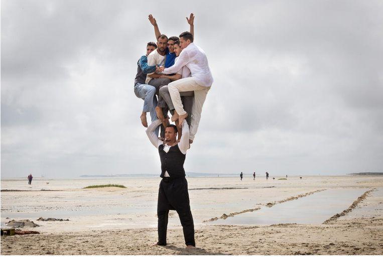 Halka van Groupe Acrobatique de Tanger. Beeld Moon Saris