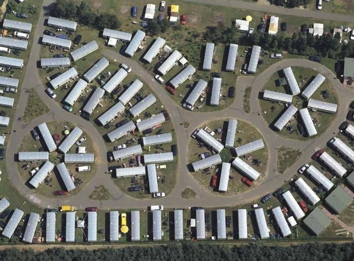 Het Ommelse recreatiepark Prinsenmeer van de Oostappen Groep gezien vanuit de lucht. archieffoto Karel Tomeï/Flying Camera