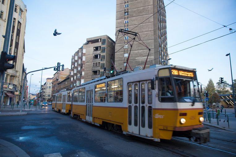 Het 8ste district in Boedepast, Józsefváros, heeft een reputatie vanwege de armoede en de hoge misdaadcijfers.  Beeld Marlena Waldthausen