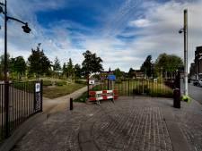 Afsluitbare poorten voor Weverspark Helmond; verboden terrein tussen 23.00 en 6.00 uur