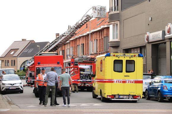 brand Oude Molenstraat