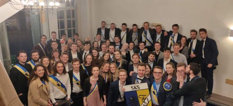 De studenten van SKS.