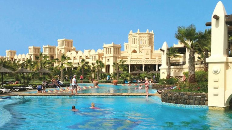 Het 'Riu Touareg'- hotel op Boa Vista: in dit droomhotel beleefde Justin Miller een 'horrorvakantie'
