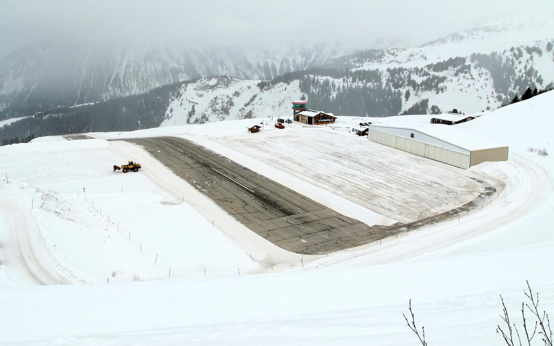 Aérodrome de Courchevel, Frankrijk