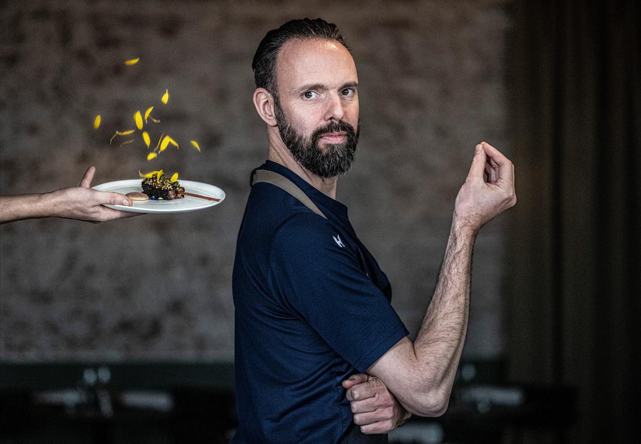 Emile van der Staak, chef-kok van restaurant De Nieuwe Winkel in Nijmegen.