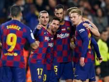 Messi leidt Barcelona met voetbalshow langs Mallorca