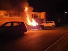 Gestolen auto gaat in vlammen op in Amersfoort