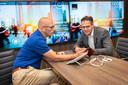 Jeroen Lotgering (li) en Toni Versluijs, NXP