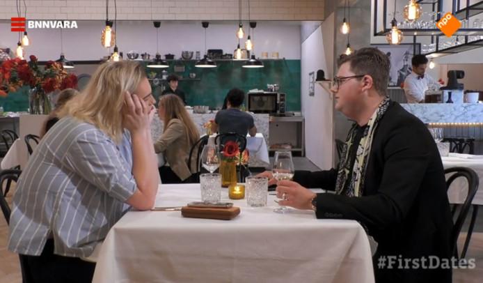 Jesse en zijn 'first date' Brandon.