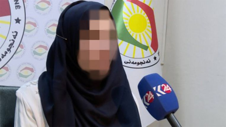 De beelden van het interview met de Nederlandse Laura H. op de Koerdische zender Kurdistan24 gingen de wereld rond.