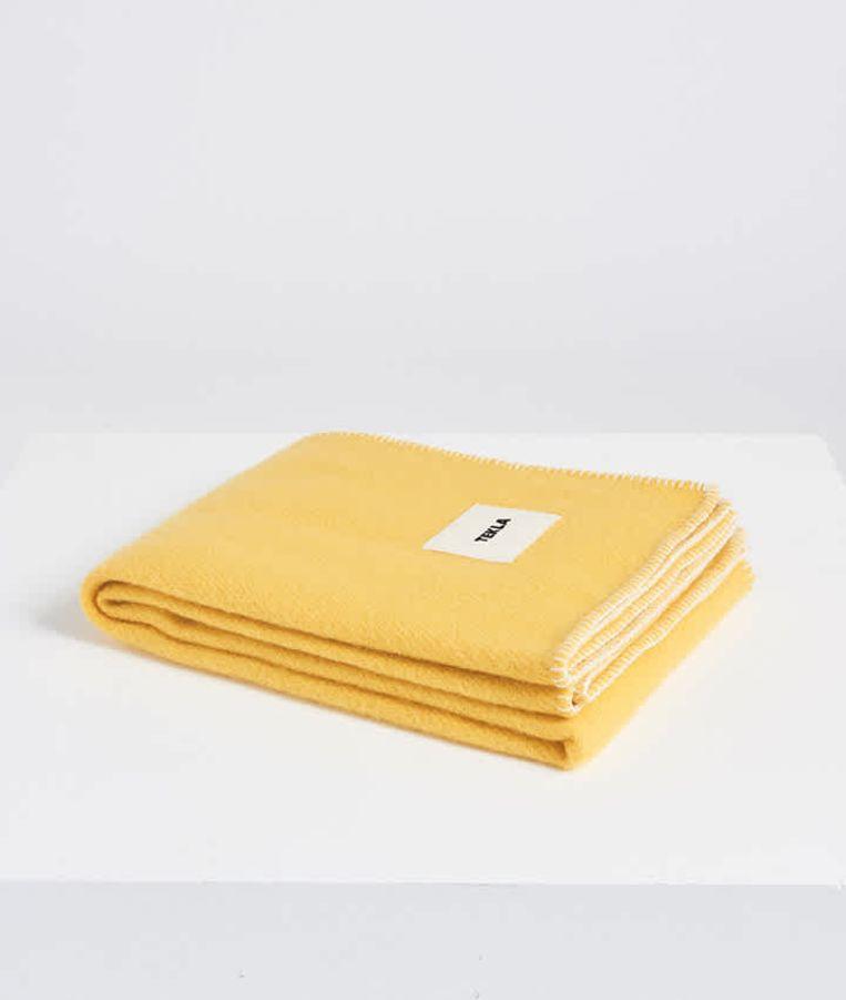 Wollen deken, 130 x 180 cm, € 159. Beeld
