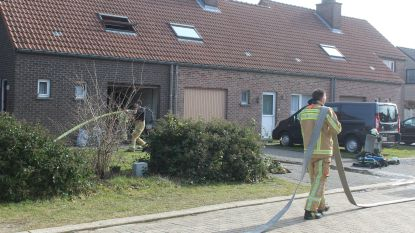 Hevige brand vernielt keuken in Loksbergen