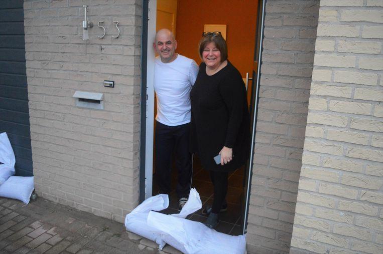 Tine De Backer en Luc Degelin