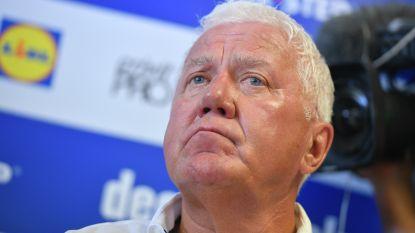 """Patrick Lefevere: """"Waarom zou de Tour wel kunnen doorgaan als EK en Spelen worden uitgesteld?"""""""