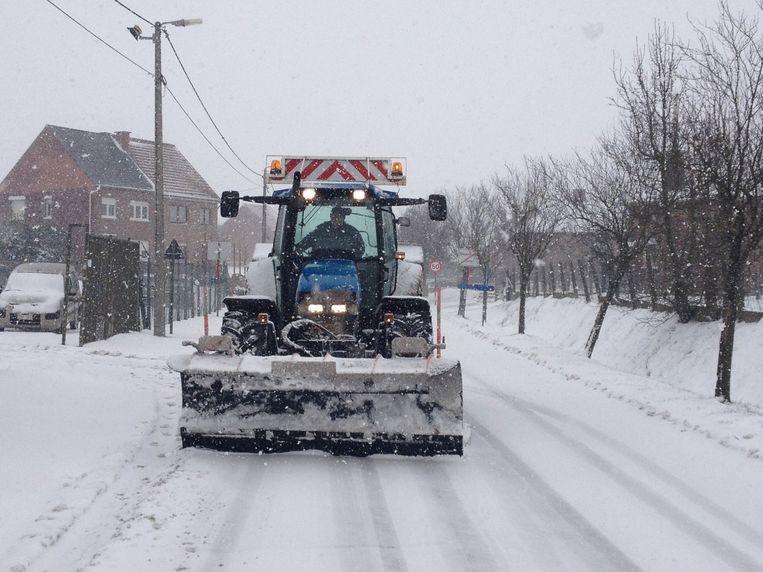 Tienen wil deze winter ook de boeren inschakelen om sneeuw en ijzel te ruimen.