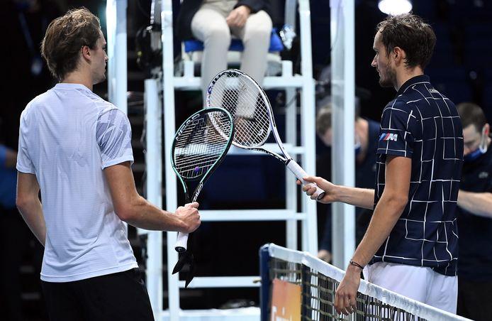 Après s'être affrontés, lundi soir, Alexander Zverev et Daniil Medvedev ont réagi à la proposition de Novak Djokovic et ils ne partagent pas le même avis.