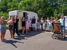 Roosendaals protest: 'Meer standplaatsen voor woonwagens'