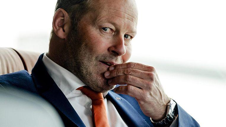Danny Blind evenaarde het record van Georg Kessler en Guus Hiddink voor de meeste nederlagen in een kwalificatiereeks Beeld anp