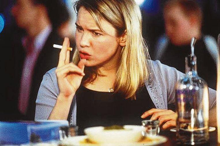 Renée Zellweger in 'Bridget Jones's Diary' van Sharon Maguire. Beeld