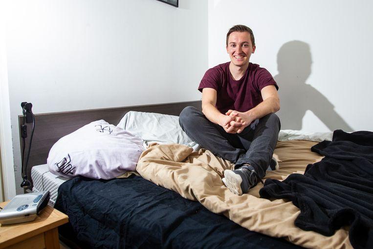 Daan Wielens (26) maakte op zijn 25e de docu 'Knaap', over de druk van zijn maagdelijkheid.