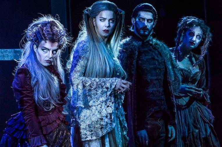 De grote winnaar van de Musical Awards is The Addams Family. Beeld null