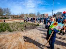 'Lelijk' Daniëlsplein in Nijmegen is nu gezellig groen parkje