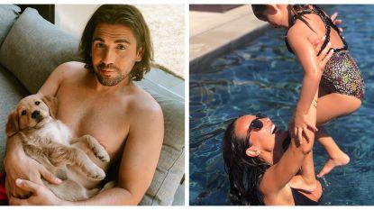 SHOWBITS. De hond van Dimitri Vegas en een frisse duik met Ann Van Elsen