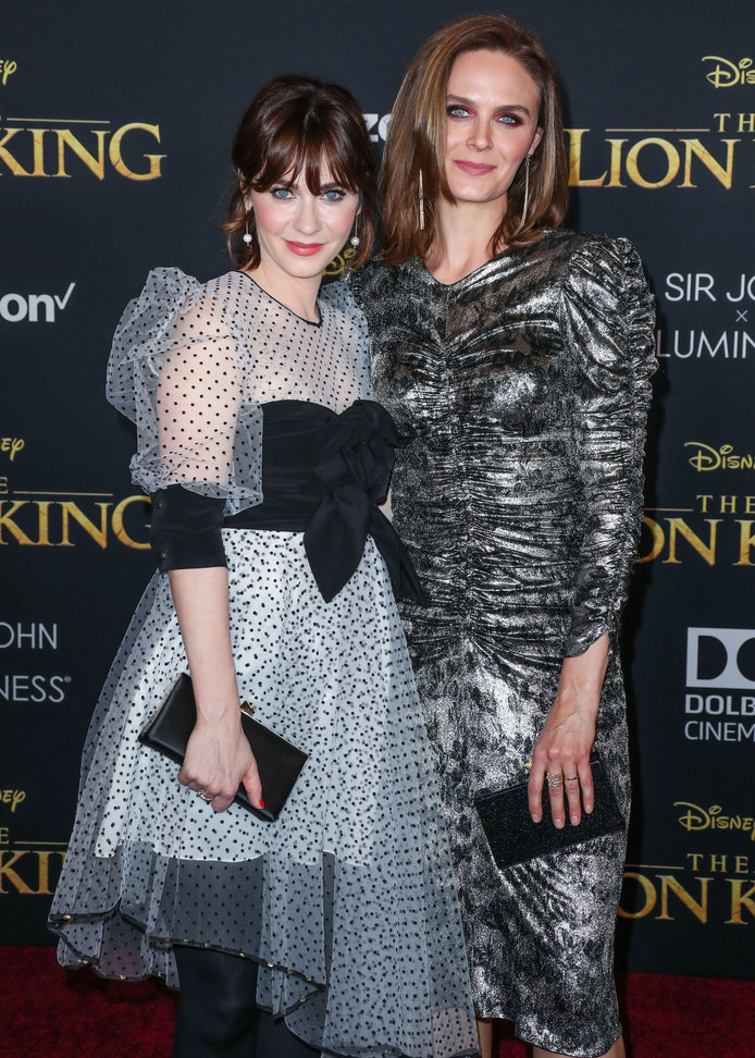 Zooey Deschanel et Emily Deschanel
