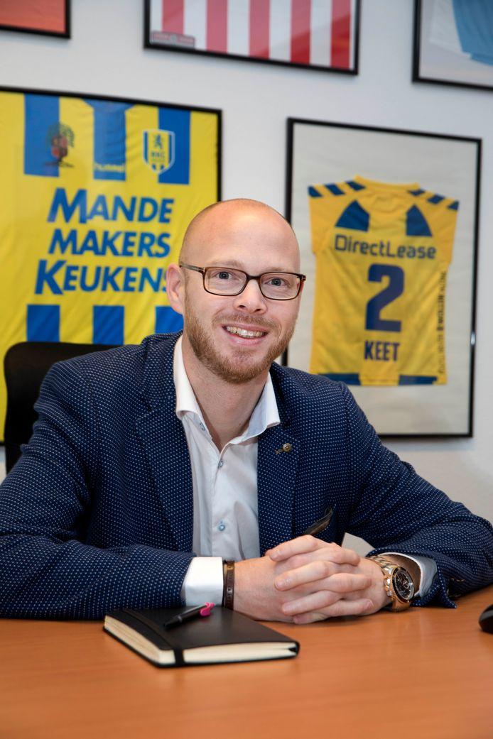 Technisch directeur Remco Oversier van NEC.