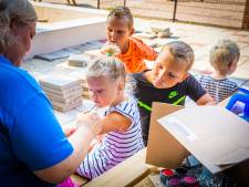 Naar school in de zomervakantie? Kinderen in Maasdam maken kennis met nieuw IKC