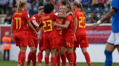 Red Flames pakken de scalp van Italië en plaatsen zich voor WK-barrageduels