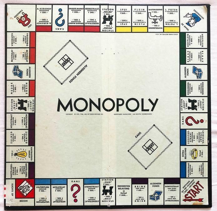 Monopolybord.