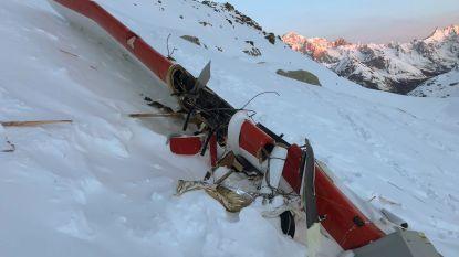 Dodental stijgt tot 7 na ongeval met helikopter en vliegtuigje in Italiaanse Alpen