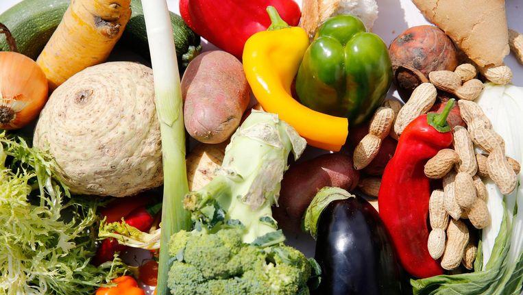 Verschillende groentes. Beeld anp