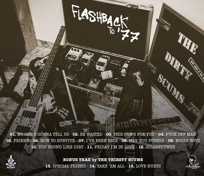 Het nieuwe album van The Dirty Scums telt 15 nummers en kost 10 euro.