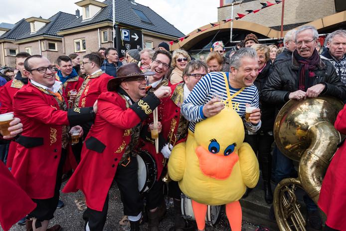 Carnavals optocht Hoogland 2016