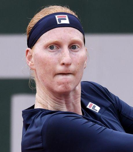 Frayeur, mais entrée réussie pour Van Uytvanck à Roland-Garros