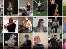 Diepenheimse Harmonie brengt een digitale ode aan de bevrijders van 't Stedeke