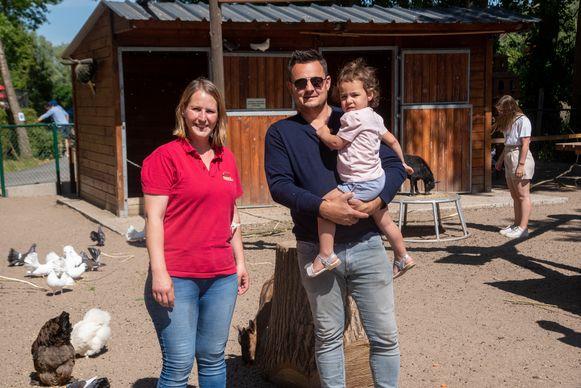 Sarah Malter maakte er, samen met echtgenoot Karl en dochtertje Grace, zelf een gezinsuitstapje in het park van.