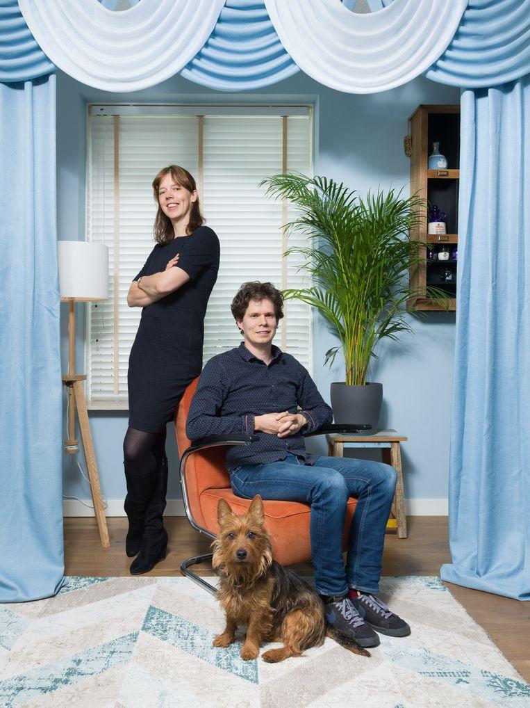 Nikki Sterkenburg en Nick Kivits. Beeld Ivo van der Bent