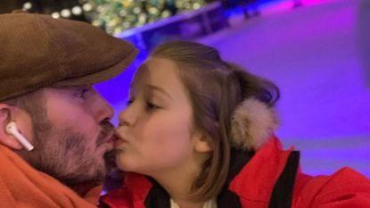 """David Beckham opnieuw onder vuur na kus op mond dochter: """"Totaal ongepast"""""""