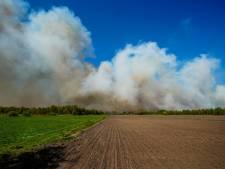 Dik veertig personen negeren afsluitingen rondom natuurbrand Deurnsche Peel