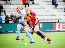 Hockeysters Oranje-Rood boeken vijfde zege op rij
