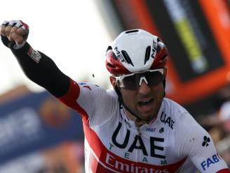Diego Ulissi wint de dertiende etappe in de Giro na prangende sprint, Almeida wat steviger in het roze